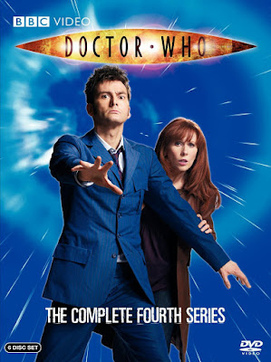 10th Doctor blue suit - Doctor Who season 4 DVD