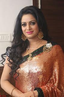 Udaya Bhanu lookssizzling in a Saree Choli at Gautam Nanda music launchi ~ Exclusive Celebrities Galleries 053.JPG