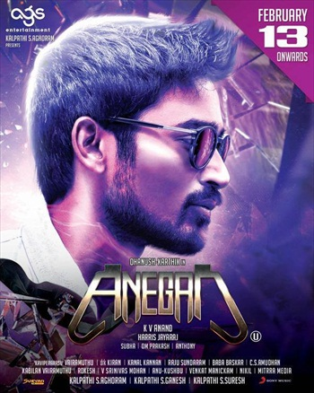 Anegan 2015 720p Dual Audio Hindi Movie Download