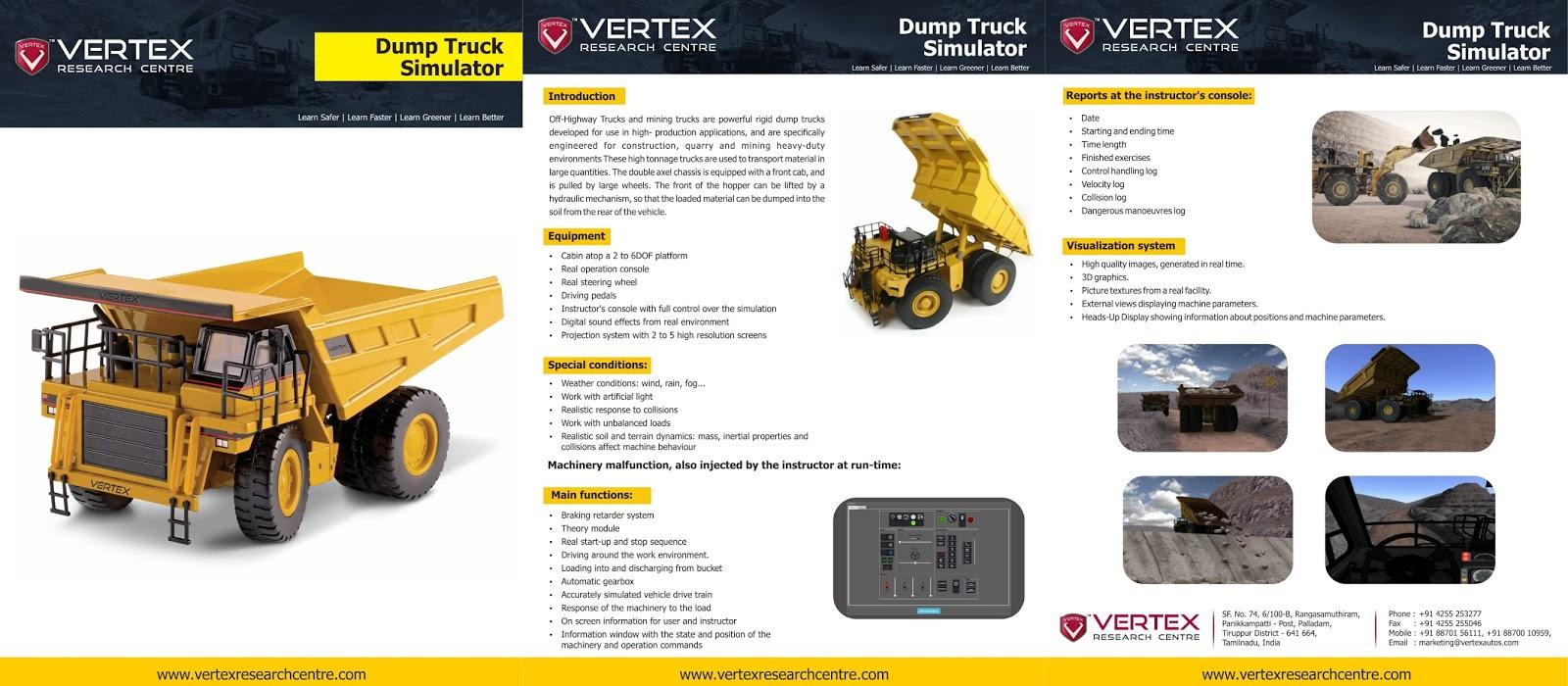 Vertex Research Centre: Indian Dump Truck Simulator - Vertex