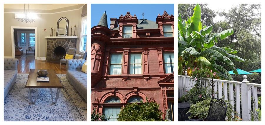maisons historiques dans le Sud des Etats-Unis