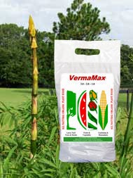 Certified organic worm castings and liquid for growing bamboo
