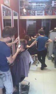 day cat toc nam, dạy cắt tóc nam, trung tâm dạy cắt tóc nam