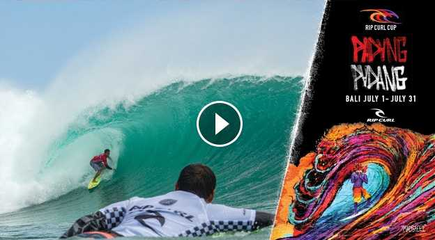 Best Seat In The House Rip Curl Cup 2018 Padang Padang Bali