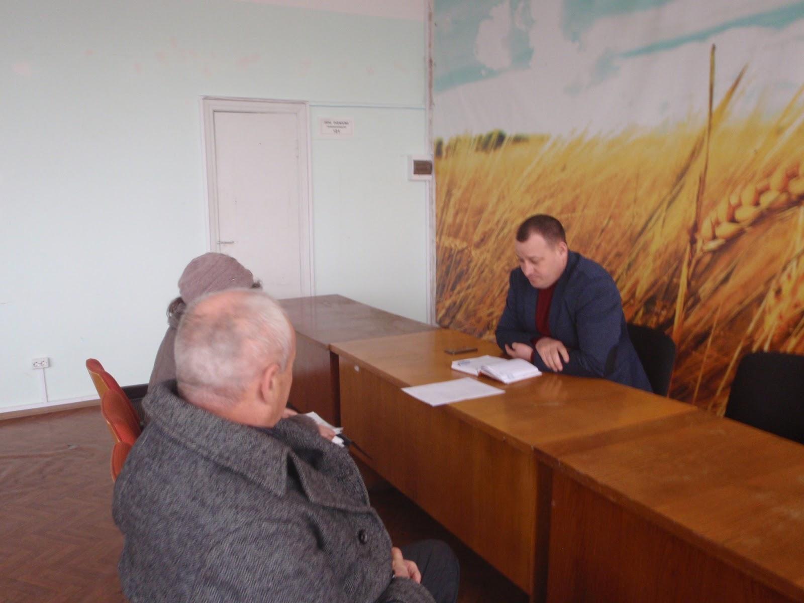 Юрій Лостік провів особистий прийом громадян у Головному управлінні Держгеокадастру у Миколаївській області