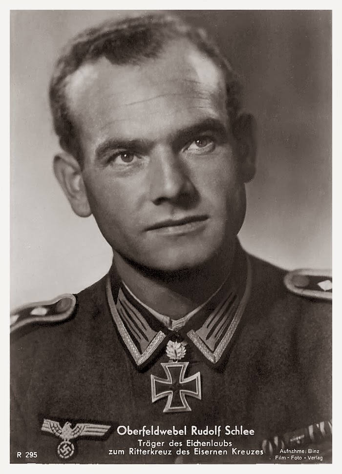 Rudolf Schlee Ritterkreuzträger Knight Cross Holder Postcard