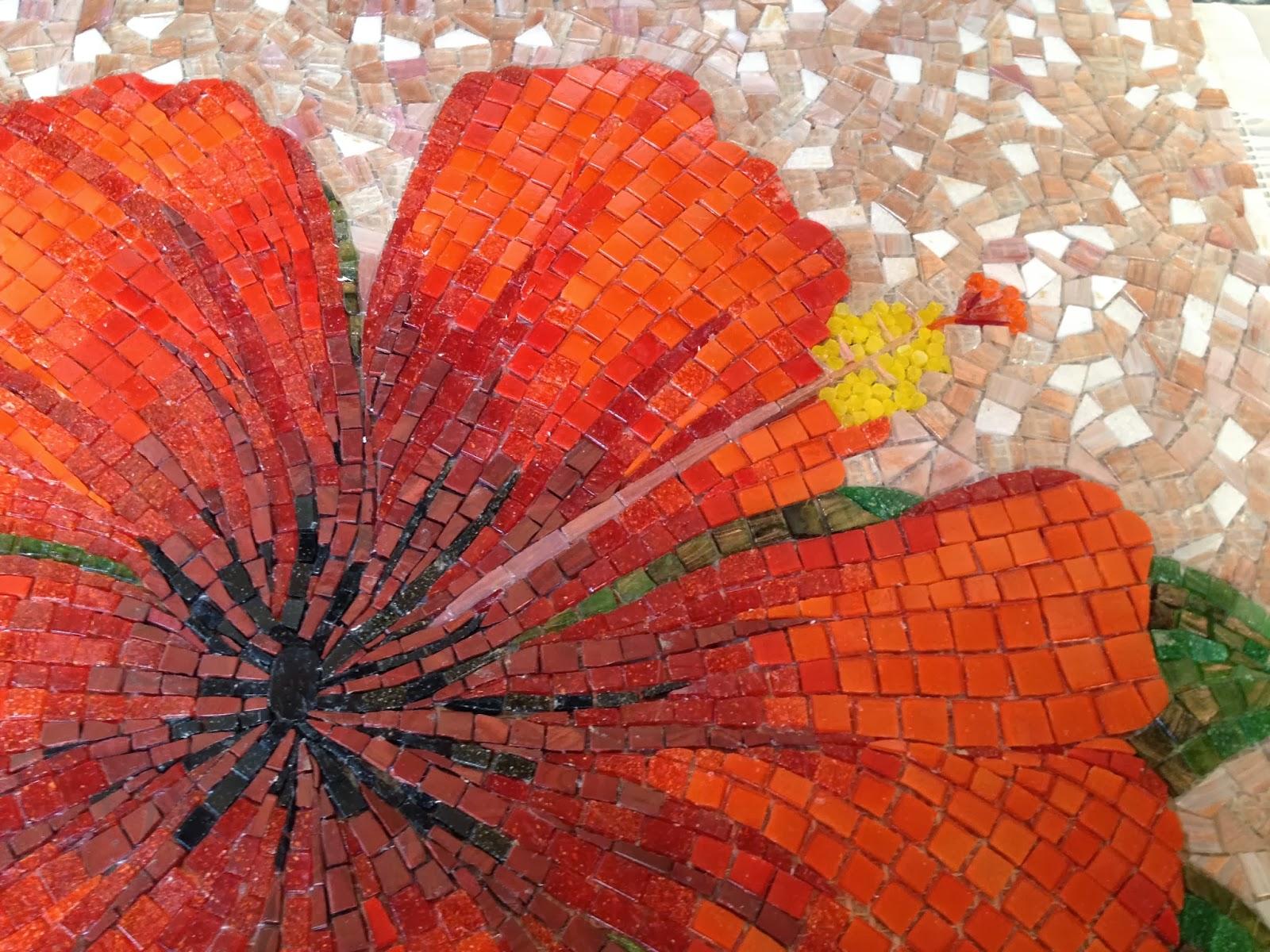 çiçek mozaik