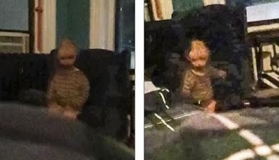 Bangun Malam Hari, Pria Ini Potret 'Anak Setan' di Apartemennya