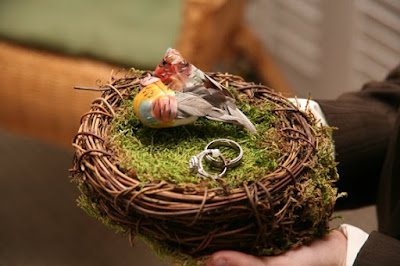 ring cushion - wedding planning