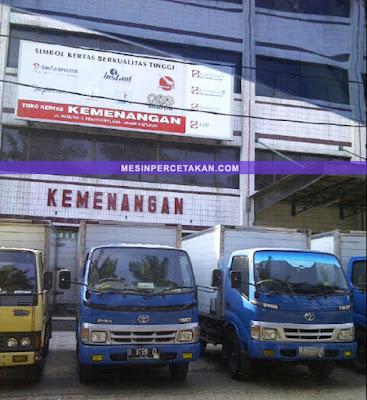 TOKO KERTAS MURAH di Jakarta