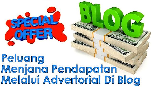 Peluang Advertorial Dengan Pengiklan Luar Negara