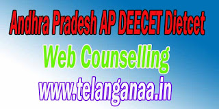 Andhra Pradesh AP Deecet AP Deecet 2016 Web Counselling Certificate Verification
