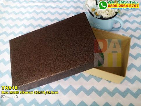Box Motif Ukuran 23x14,5x5cm