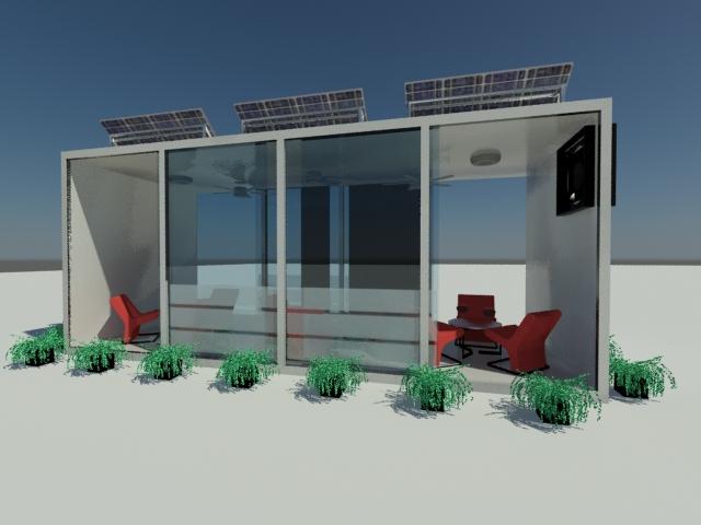 Bluesketch Diseño Industrial Terrazas Solares Modulares
