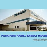 Lowongan Operator Produksi PT Panasonic Gobel Energi Indonesia (PT. PECGI)