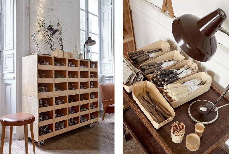 riciclare vecchi mobili e materiali