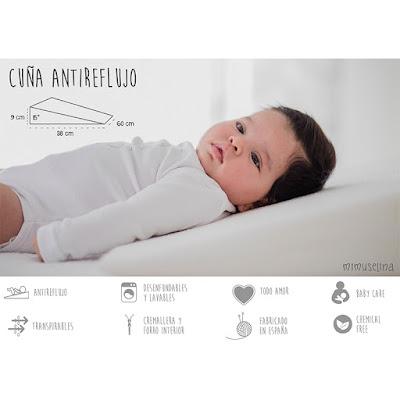 beneficios de usar cuña con bebés almohada inclinada blog mimuselina