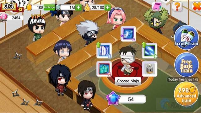Ninja Heroes v1.1.0 APK Terbaru