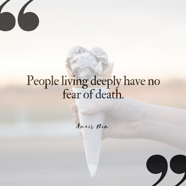 10 (Pinnable) Quotes About Death that Celebrate Life | Anais Nin