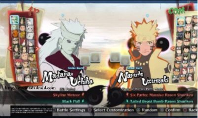 Download APK Naruto Senki mod Ninja Storm 4 v2 oleh Awan