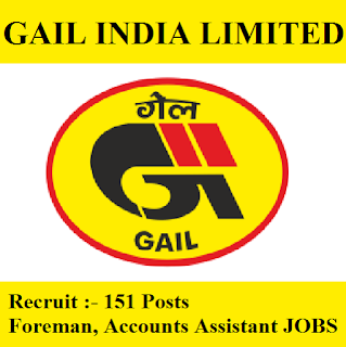 Gas Authority of India Limited, GAIL, Graduation, Fireman, Assistant, freejobalert, Sarkari Naukri, Latest Jobs, gail logo