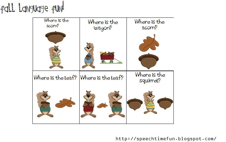 Speech Time Fun: Speech And Language