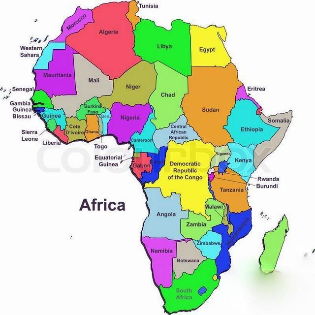 negara maju dan berkembang di afrika