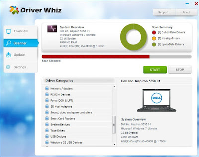 Screenshot Driver Whiz 2.8.2.0 Full Version