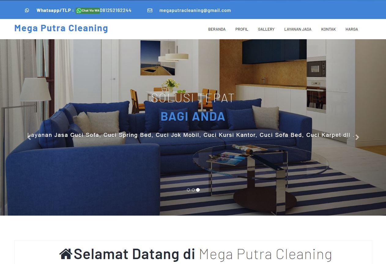 Website Jasa Cuci Sofa By ROMOCODE