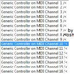 Koshdukai's Generic Controller MIDI Channel Remote Codec