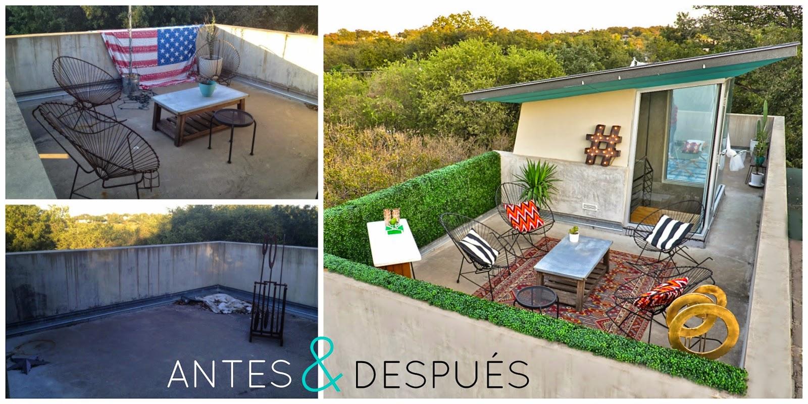 Vivir en el tejado diariodeco14 decorando exteriores sorteo for La casa de la azotea