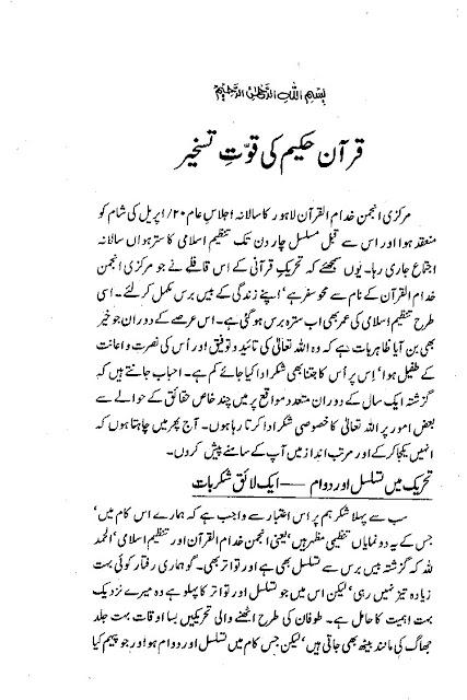 Dr. Israr Ahmed Books
