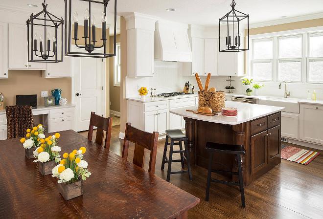 Dix Blue Kitchen Cabinets