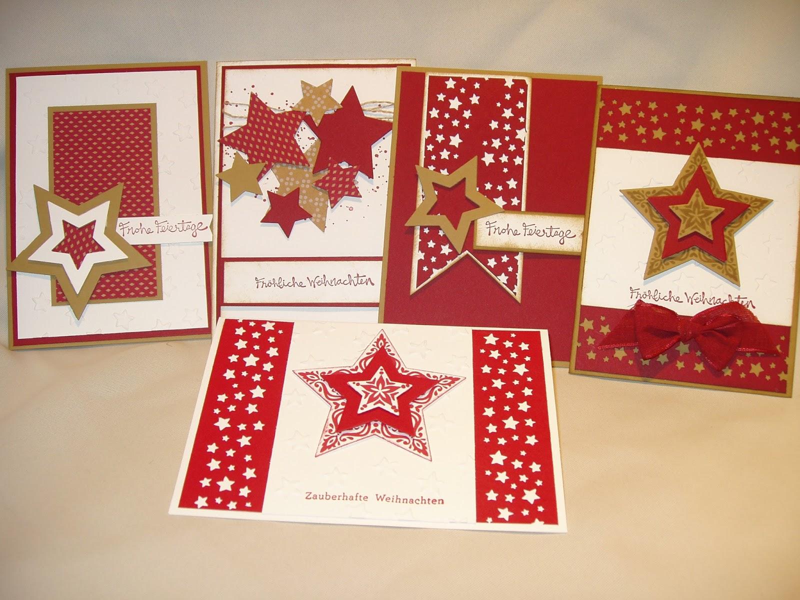 ulli 39 s stempeloase gespendete stampin up weihnachtskarten f r einen guten zweck. Black Bedroom Furniture Sets. Home Design Ideas