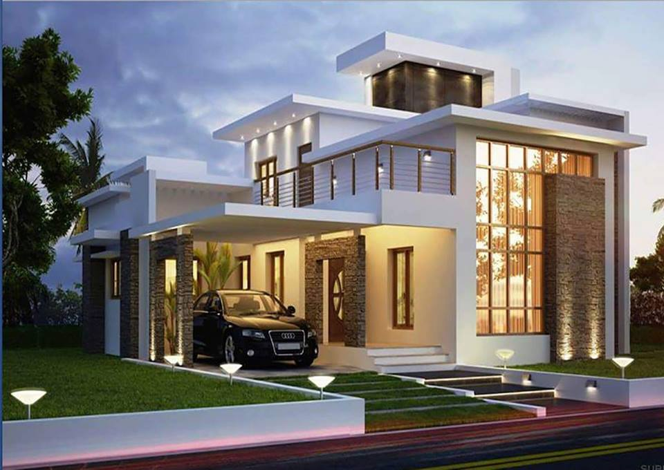 Thoughtskoto for 3 story house with rooftop deck