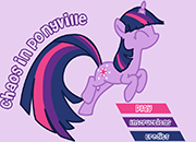 Twilight Sparkle Chaos in Ponyville