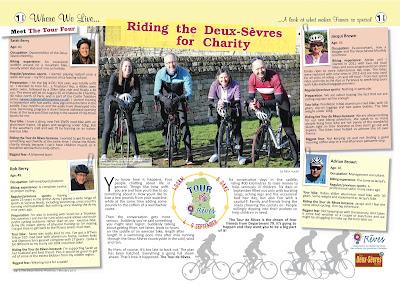 Tour de Rêves charity bike ride Deux-Sèvres French Village Diaries The Deux-Sèvres Monthly