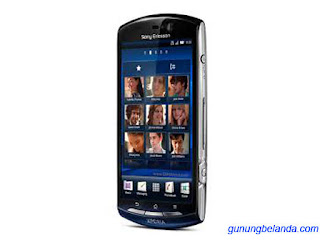 Cara Flashing Sony Ericsson Xperia neo MT15i