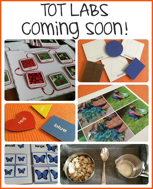 Tot Labs announcement by Welcome to Mommyhood #totlabs, #kidsactivities