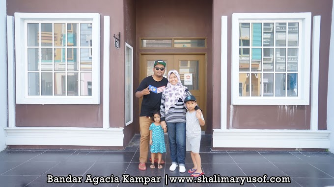Tempat Menarik Di Kampar Perak - Bandar Agacia Kampar, Perak Sesuai Untuk Abadikan Gambar Menarik Bersama Keluarga Tersayang