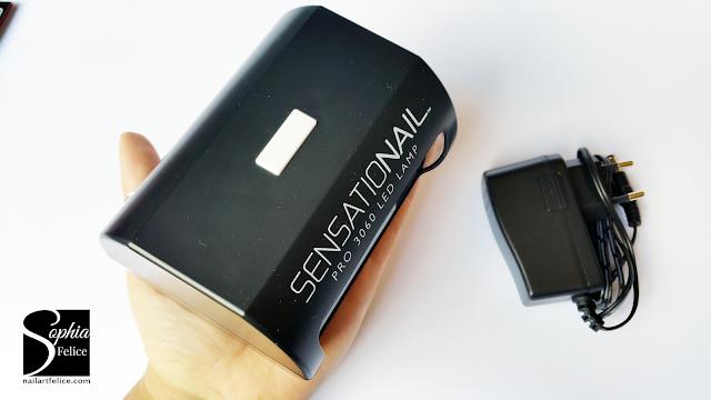 kit semipermanente sensationail - lampada led_03