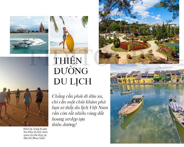 Không bên bỏ qua những điểm du lịch đẹp nhất Việt Nam