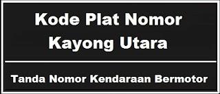 Kode Plat Nomor Kendaraan Kayong Utara