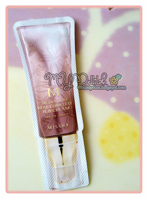 Pakai Missha - M Signature Real Complete BB Cream.