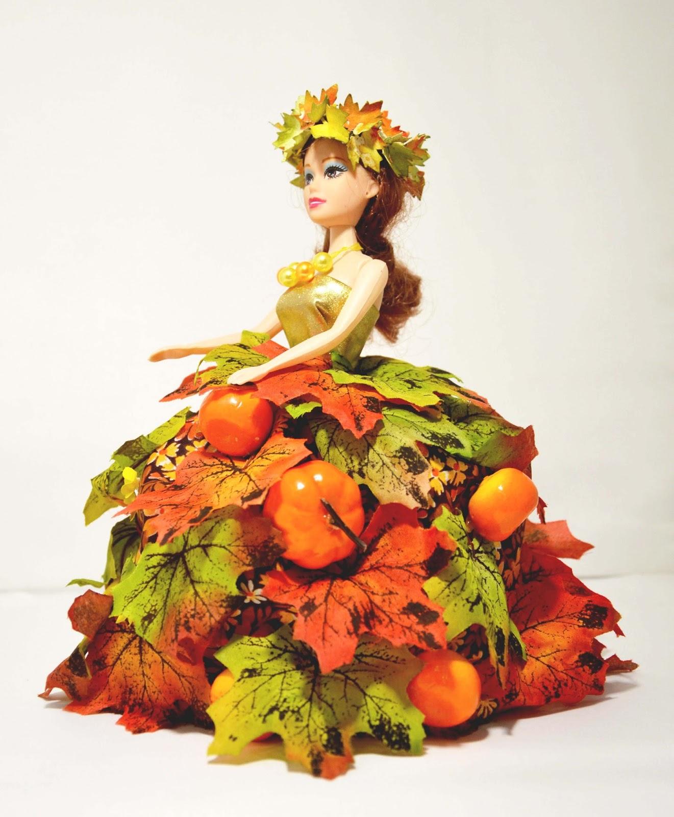 """Моя мастерская: Осенняя поделка в садик на тему """"Золотая ..."""