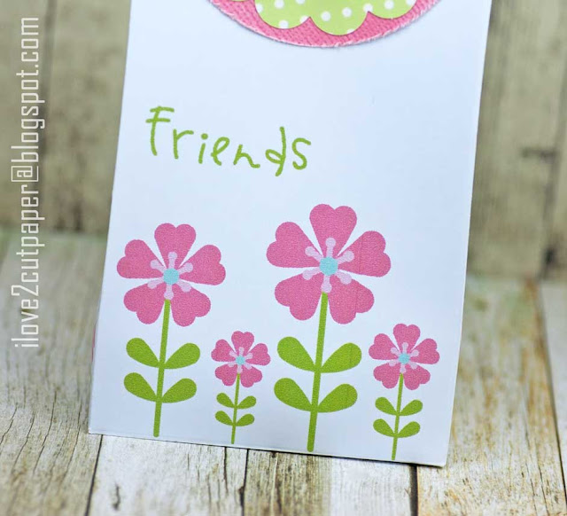 Funky flowers, gift bag, ilove2cutpaper, LD, Lettering Delights, Pazzles, Pazzles Inspiration, Pazzles Inspiration Vue, Inspiration Vue, Print and Cut, svg, cutting files, templates, Silhouette Cameo cutting machine, Brother Scan and Cut, Cricut, Pazzles Craft Room
