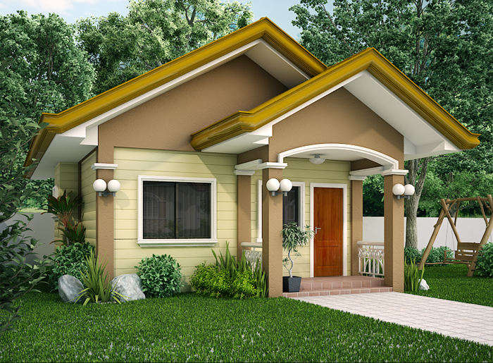 New home designs latest small homes front designs for Front house design for small houses