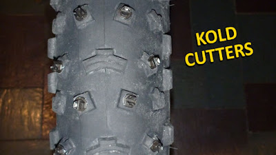 Fatbike Ice Traction Guide Kold Kutters