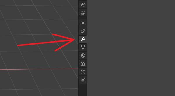 Modifiers tab Blender 2.8