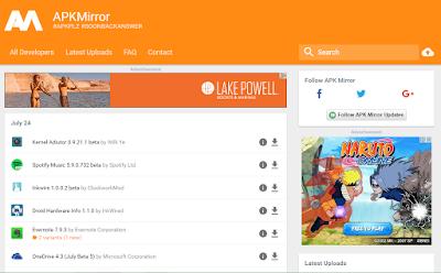 5+ Situs Download APK Android Terbaik dan Terpopuler 2